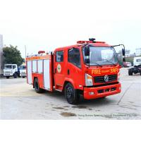 China Emergency Fire Fighting Truck With Cummins EQB125 Diesel Engine 4000Liters Water on sale