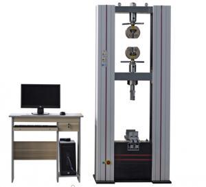 Best 100KN Universal Testing Machine Compression Tensile For Aluminlum Rubber High Precision wholesale