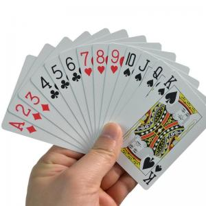 Best Original Custom Personalized Plastic Playing Cards waterproof wholesale