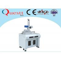 Best 355 nm Wavelength UV Laser Marking Machine Desktop 3W For Automobile Components wholesale