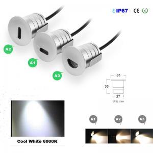 Best Mini Low Voltage Led Step Light Footlight Recessed Stair Lighting Tread Lights Led Wall Lights Exterior Step Lights wholesale