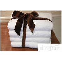 Best Pure Cotton Personalized Face Wash Towel White Eco friendly Hotel Use wholesale