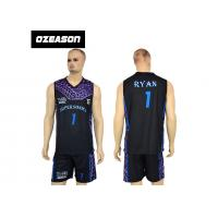 Best High Quality Sublimation Printing Reversible Training Basketball Uniform For Boys wholesale