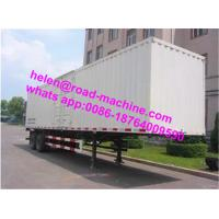 Buy cheap 2 Axle Lorry Trailer Semi Trailer Trucks  28t Single Speed White Or Red Color from wholesalers