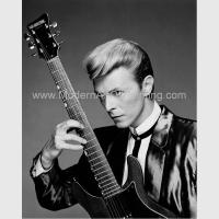 Best Hand Painted Custom Portrait Oil from Photo, Black and White Music People Art wholesale