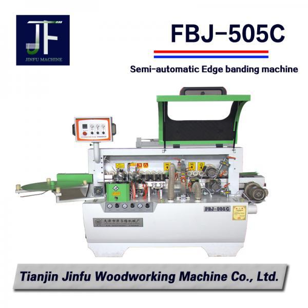 Cheap FBJ-505C China Semi auto Straight Edge Banding machine/woodworking machinery manufacturer for sale