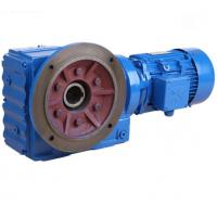Best K Series Helical Bevel Gear Motor Right Angle Gearbox For Conveyor Belt / Cylinder Roller wholesale