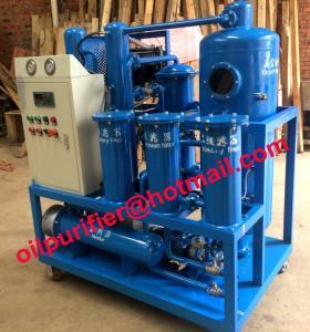 China Portable Turbine Oil recycling machine, Gas steam turbine oil regeneration plant on sale