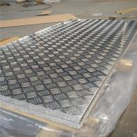 Best Corrosion Resistance Aluminum Diamond Plate Sheets Anti Skid Flooring Good Forming Performance wholesale