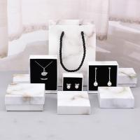 Best Custom Jewelry Box Packaging / Cardboard Jewelry Gift Boxes Recyclable wholesale