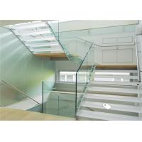 China Europe hot selling U base channel aluminium railing system with frameless glass balustrade on sale