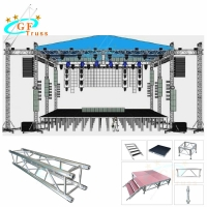 Best Customized Indoor Spigot Bolt Aluminum Roof Truss wholesale