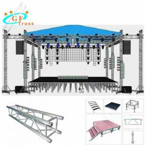 Best Indoor Aluminum Roof System Truss 200x200mm Customized Size wholesale