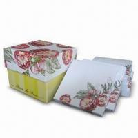 Best Gift Box for Stationery and Office Supply, with Ribbon or Magnet Seal wholesale