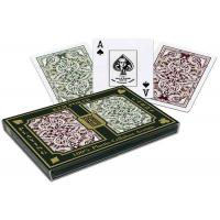 Buy cheap 100% Plastic KEM Jacquard Marked Playing Cards 2 Decks Set For Poker Cheat product
