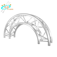 Best 290 X 290MM Events Aluminum Stage Circular Roofs Arch Truss wholesale