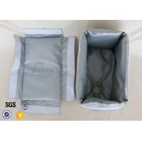 Buy cheap Removable 800℃ Thermal Insulation Materials Fiberglass Insulation Jacket from wholesalers