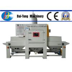 Best Phone Shell Burring Media Blasting Equipment , Automated Sandblasting Equipment Eco Friendly wholesale