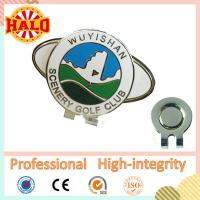 Buy cheap Bulk Popular Custom Photo Personalized Golf Ball Marker Hat Clip from wholesalers