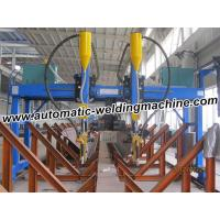 Cheap High Speed H Beam Production Line , High Accuracy Gantry Welding Machine for sale