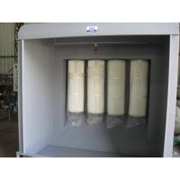 China Industrial Powder Spray Booth , Portable Paint Spray Booth For Art And Craft on sale