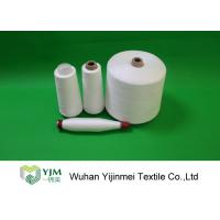 Buy cheap Optical White / Bleached White TPM 828 50s/2 Spun Polyester Yarn 42337 Meters Per KG product