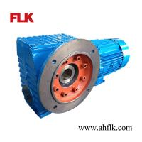 Best SAF77 speed reducer Helical-worm gearmotor hollow shaft industrial gearbox wholesale