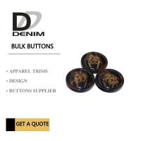 China Trim & Polyester Large Coat Buttons , Sourcing Unique Buttons For Clothing on sale