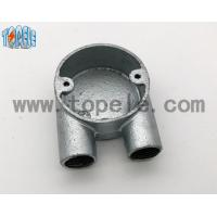 Best BS4568 Gi Conduits And Accessories Two Way U Junction Box Casting Technics wholesale
