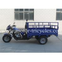Best 80 km/h Max Speed Three Wheel Cargo Motorcycle Motorized Air Cooled With 163FML Engine wholesale