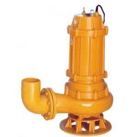 China QW WQ non-clogging centrifugal sewage pump water sewage submersible pump on sale