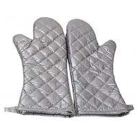 Best Safety Heat Proof Oven Mitts , Kitchen Oven Gloves Flexibility Extra Long wholesale