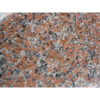 China Polished G562 Maple Red Granite Exterior Stair Design Stair Tread Non Slip on sale