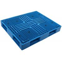 China 1100*1100 HDPE Durable injection molde picture frame shape stackable Plastic Pallet  for Shipment racking pallet on sale
