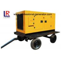 China Portable Mobile Power Generator / Trailer Generator With Four Stroke Diesel Engine on sale