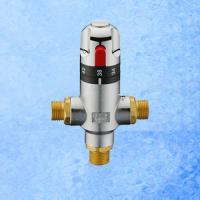 China Brass Adjustable Water Thermostatic Mixing Valve on sale