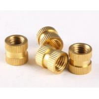 Best Brass Knurled Nuts Insert Embedded Nuts M2 * 3* 3.5 Through-hole brass insert nut Knurled nuts for injection moulding wholesale