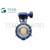 """Best Gear Operated Three Offset 900Lb 60"""" Stainless Steel Butterfly Valve wholesale"""
