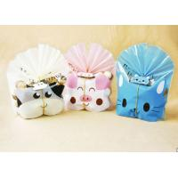 Best Lovely Cat Plastic Cake Bags For Packing Bakery Breads , Cookie Plastic Bags wholesale