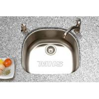 China 304 Stainless Steel  D Shape Sink for Kitchen on sale