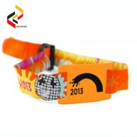 Buy cheap Waterproof MIFARE 1K NFC quantity Polyester woven bracelet wristband from wholesalers