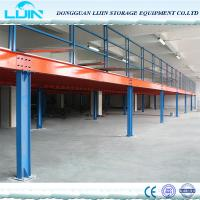 Buy cheap High Grade Steel Structure Mezzanine FloorHeavy Load Max 4000mm Beam Length product
