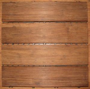 Best Outdoor Bamboo deck tiles wholesale