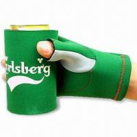 Best Glove Can Cooler with Flat Lock or Blind Stitching, Made of 2.5 to 4.5mm SBR + Double Polyester wholesale