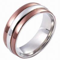 Best Stainless Steel Ring, Customized Designs and Logos Accepted wholesale