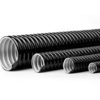 Best 4 Inch PVC Coated Flexible Electrical Conduit Pipe Customizable Printing wholesale