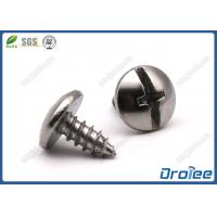 Buy cheap 304/316 Stainless Steel Philips Slotted Drive Truss Head Sheet Metal Screws from wholesalers