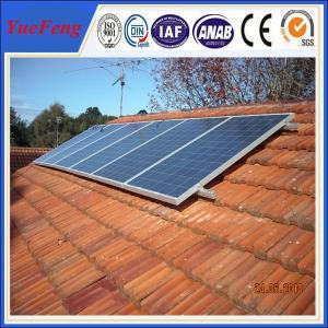China Solar slant roof mounted solar heater flat solar panel in china on sale