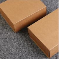 Cheap Recyclable Kraft Paper Gift Box With Drawer for sale
