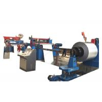 Best Stainless Steel Cut To Length Line Machine / Strap Coil Steel Coil Slitting Line wholesale